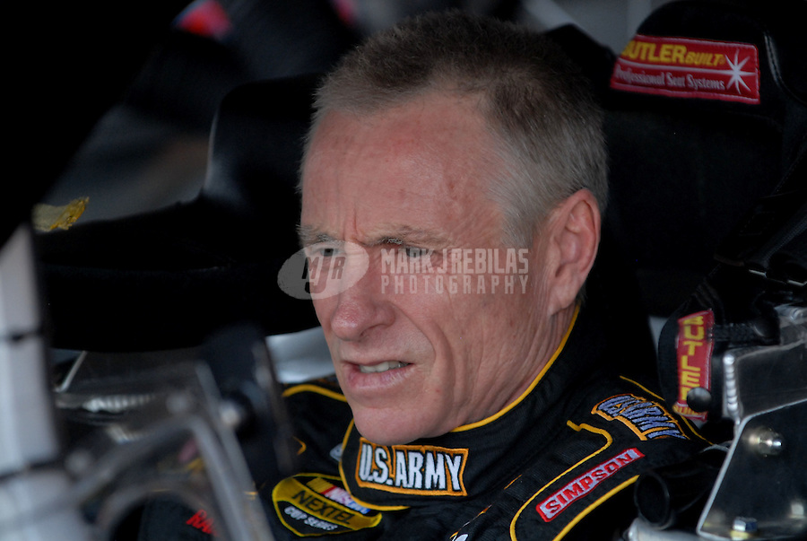 Jun 1, 2007; Dover, DE, USA; Nascar Nextel Cup Series driver Mark Martin (01) during practice for the Autism Speaks 400 at Dover International Speedway. Mandatory Credit: Mark J. Rebilas-US PRESSWIRE Copyright © 2007 Mark J. Rebilas..