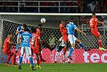 Millonarios venció 1-2 a América. Semifinal ida Liga Águila II-2017.