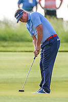 Jason Dufner (USA) watches his putt on 11 during Thursday's round 1 of the 117th U.S. Open, at Erin Hills, Erin, Wisconsin. 6/15/2017.<br /> Picture: Golffile | Ken Murray<br /> <br /> <br /> All photo usage must carry mandatory copyright credit (&copy; Golffile | Ken Murray)