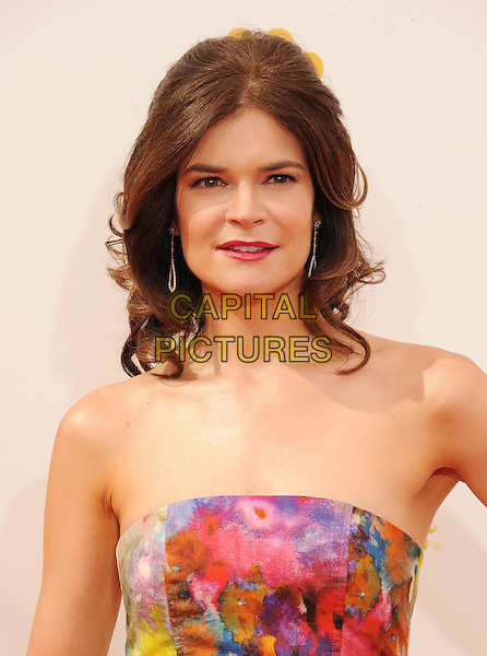 LOS ANGELES, CA- AUGUST 25: Actress Betsy Brandt arrives at the 66th Annual Primetime Emmy Awards at Nokia Theatre L.A. Live on August 25, 2014 in Los Angeles, California.<br /> CAP/ROT/TM<br /> &copy;Tony Michaels/Roth Stock/Capital Pictures