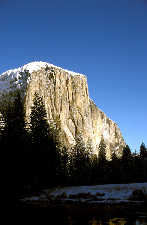California: Yosemite Valley. View of El Capitan.  Photo cayose104..Photo copyright Lee Foster, 510/549-2202, lee@fostertravel.com, www.fostertravel.com