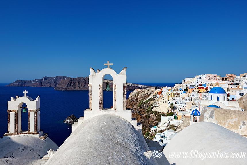 The wonderful Oia in Santorini, Greece