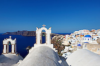 The wonderful Oia in Santorini, Greece