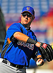 8 March 2009: New York Mets' outfielder Ryan Church warms up prior to a Spring Training game against the Washington Nationals at Space Coast Stadium in Viera, Florida. The Nationals defeated the Mets 8-3 in the Grapefruit League matchup. Mandatory Photo Credit: Ed Wolfstein Photo