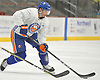 John Tavares #91, New York Islanders captain, practices during team training camp at Northwell Health Ice Center in East Meadow on Friday, Sept. 15, 2017.