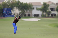 Lee Slattery (ENG) on the 16th fairway during the 3rd round of the DP World Tour Championship, Jumeirah Golf Estates, Dubai, United Arab Emirates. 17/11/2018<br /> Picture: Golffile | Fran Caffrey<br /> <br /> <br /> All photo usage must carry mandatory copyright credit (© Golffile | Fran Caffrey)