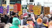 OCT 4 London Film Festival protesters