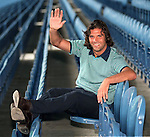 Marco Negri signs for Rangers in summer 1997