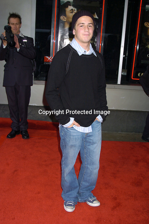 Michael Angarano..at the New York Premiere of Cinderella Man to benefit The Children's Defense Fund on June 1, 2005 at The Loews Lincoln Square Theatre...Photo by Robin Platzer, Twin Images