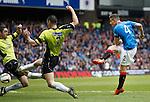Fraser Aird scores for Rangers