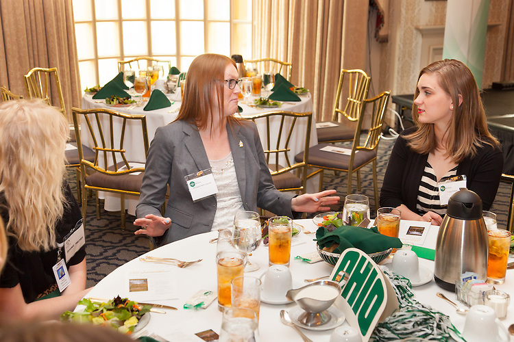 31st Annual Ohio University State Government Alumni Luncheon hosted by President Roderick J. McDavis on behalf of the Voinovich School of Leadership and Public Affairs, May 13, 2014 in Columbus, Ohio. Photo by Ohio University / Jonathan Adams