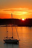 Sailboat Silhouette  #S18