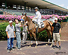 Her Royalship winning at Delaware Park on 7/30/14