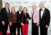 From left to right: United States Representative John Mica (Republican of Florida), wife, Patricia, Robert Bernstein, Florence Henderson, Marjorie Billington, and James H. Billington, the Librarian of Congress,  arrive for the formal Artist's Dinner honoring the recipients of the 2011 Kennedy Center Honors hosted by United States Secretary of State Hillary Rodham Clinton at the U.S. Department of State in Washington, D.C. on Saturday, December 3, 2011. The 2011 honorees are actress Meryl Streep, singer Neil Diamond, actress Barbara Cook, musician Yo-Yo Ma, and musician Sonny Rollins..Credit: Ron Sachs / CNP
