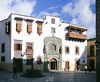 Spanien, Kanarische Inseln, Gran Canaria, Las Palmas: Casa de Colon, Stadtpalast, Columbus-Haus, Museum, Residenz des ersten Gouverneurs | Spain, Canary Island, Gran Canaria, Las Palmas: Casa de Colon, palace, Columbus-House, Museum