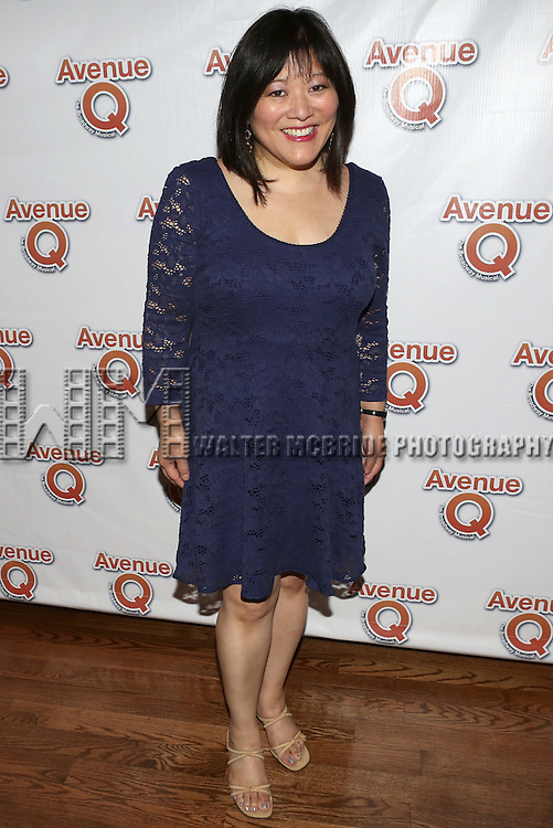 """Ann Harada attending the 10th Anniversary Performance After Party for  """"Avenue Q"""" at Hudson Terrace on July 31, 2013 in New York City."""
