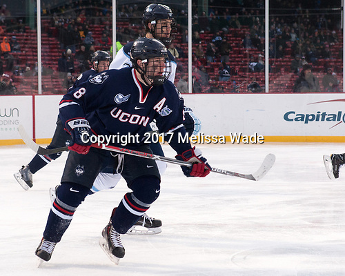 Patrick Holway (Maine - 2), Spencer Naas (UConn - 8) - The University of Maine Black Bears defeated the University of Connecticut Huskies 4-0 at Fenway Park on Saturday, January 14, 2017, in Boston, Massachusetts.