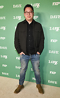 """LOS ANGELES - FEBRUARY 27: James Shin attends the red carpet premiere event for FXX's """"Dave"""" at the Directors Guild of America on February 27, 2020 in Los Angeles, California. (Photo by Frank Micelotta/FX Networks/PictureGroup)"""