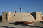 The Lubbock Veteran's Memorial is a brick and sandstone structure of long curving walls and walks filled with bricks containing names and military service identification information for veterans of the Panhandle and South Plains region for all wars since World War I.  The names of many honored dead from the region are listed on polished black granite slabs mounted to the east wall of the memorial.  The memorial also contains a sitting/meditation area where visitors can sit and contemplate the names and events and perhaps remember events or people in their own lives who have served this country in it's times of need and crisis.  Many visitors come to the Memorial in the evening when the sun's rays wash the area in a red-gold light and add a rather mystical atmosphere to the area.  Each Memorial Day, Independence Day, and Veteran's Day, ceremonies of recognition and appreciation are held at the Memorial.  Veterans and their families come from hundreds of miles away to attend these ceremonies.  Many local teachers take their classes to the Memorial in an effort to help them understand the sacrifices that their forebears made and the true meaning of their freedom.  Individuals and families can purchase bricks with names of loved ones who have served for inclusion in the various walls, walks, and plazas of the Memorial.