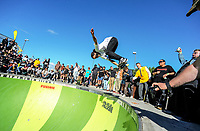 Bowman Hansen. 2018 Wellington Bowlzilla skateboarding tournament at Waitangi Park Skate Bowl in Wellington, New Zealand on Saturday, 10 March 2018. Photo: Dave Lintott / lintottphoto.co.nz