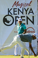 Jack Singh Brar (ENG) during the third round of the Magical Kenya Open presented by ABSA played at Karen Country Club, Nairobi, Kenya. 16/03/2019<br /> Picture: Golffile | Phil Inglis<br /> <br /> <br /> All photo usage must carry mandatory copyright credit (&copy; Golffile | Phil Inglis)