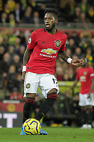 Fred of Manchester United during the Premier League match between Norwich City and Manchester United at Carrow Road on October 27th 2019 in Norwich, England. (Photo by Matt Bradshaw/phcimages.com)<br /> Foto PHC/Insidefoto <br /> ITALY ONLY