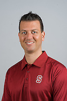 STANFORD, CA - AUGUST 13, 2013 - Jason Mansfield of the Stanford Women's Volleyball team.