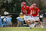 2017 March 25: Curtis Corley #42 of Maryland Terrapins during a 15-7 win over the North Carolina Tar Heels at Fetzer Field in Chapel Hill, NC.
