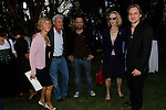 Charley Temmel and wife Maria, Markus Unterberger, guest, Composer Gerrit Wunder.Austrian National Holiday Celebration with General Consul Dr Karin Proidl.Residenz of the Consul.Los Angeles, California.26 October 2009.Photo by Nina Prommer/Milestone Photo