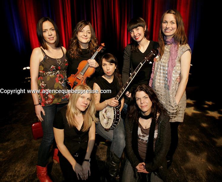 Montreal (Qc) CANADA - Feb 23 2010 -toutes les filles