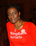Evon Idahosa - Pathfinders Justice Initiative - Bring Back Our Girls - 500 Days on August 27, 2015 - New York City, New York (Photo by Sue Coflin/Max Photos)