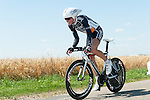 SITTARD, NETHERLANDS - AUGUST 16: Jurgen Van Goolen of Belgium riding for Accent Jobs-Wanty competes during stage 5 of the Eneco Tour 2013, a 13km individual time trial from Sittard to Geleen, on August 16, 2013 in Sittard, Netherlands. (Photo by Dirk Markgraf/www.265-images.com)