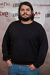 Brays Efe attends to the presentation of film 'La Libreria' at Verdi Cinema in Madrid, Spain. November 08, 2017. (ALTERPHOTOS/Borja B.Hojas)