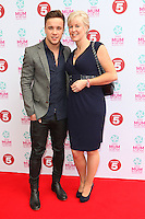 Sam Callahan and his Mother arriving at the Tesco Mum Of The Year Awards 2014, at The Savoy, London. 23/02/2014 Picture by: Alexandra Glen / Featureflash