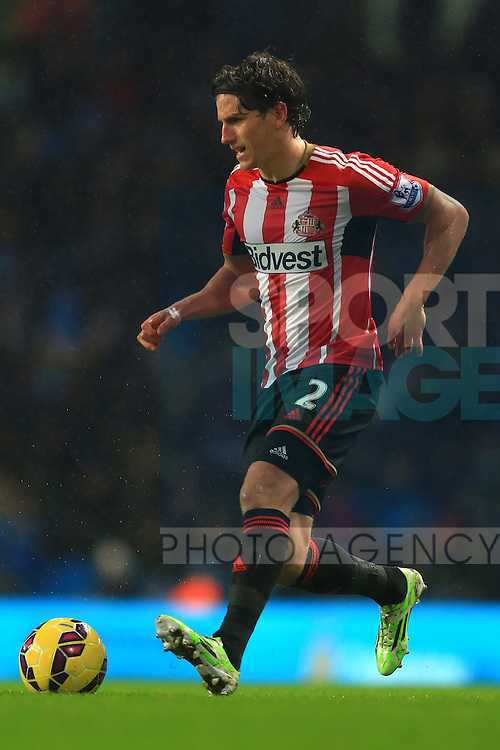 Billy Jones of Sunderland - Manchester City vs. Sunderland - Barclay's Premier League - Etihad Stadium - Manchester - 28/12/2014 Pic Philip Oldham/Sportimage
