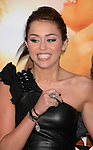 """HOLLYWOOD, CA. - March 25: Miley Cyrus  arrives to """"The Last Song"""" Los Angeles Premiere at ArcLight Hollywood on March 25, 2010 in Hollywood, California."""