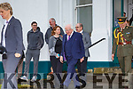 President of Ireland Michael D.Higgins on his visit to the Valentia Cable Station on Saturday.