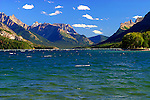 WATERTON LAKE, WATERTON NATIONAL PARK, ALBERTA, CANADA
