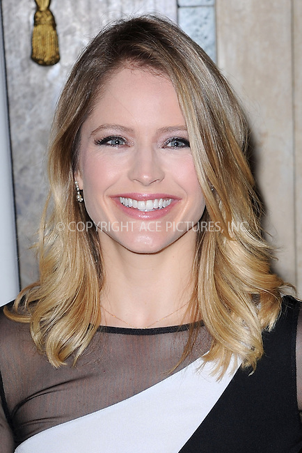 WWW.ACEPIXS.COM<br /> April 9, 2015 New York City<br /> <br /> Sara Haines attending the 18th Annual ASPCA Bergh Ball at the Plaza Hotel on April 9, 2015 in New York City.<br /> <br /> Please byline: Kristin Callahan/AcePictures<br /> <br /> ACEPIXS.COM<br /> <br /> Tel: (646) 769 0430<br /> e-mail: info@acepixs.com<br /> web: http://www.acepixs.com