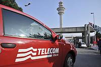 - Milan, headquarters  of telecommunications company Telecom in Rozzano<br /> <br /> - Milano, sede centrale della compagnia di telecomunicazioni Telecom a Rozzano