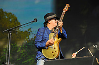 LONDON, ENGLAND - JULY 8: Santana (Carlos Santana) performing at British Summer Time, Hyde Park on July 8, 2018 in London, England.<br /> CAP/MAR<br /> &copy;MAR/Capital Pictures