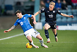 Dundee v St Johnstone&hellip;29.12.18&hellip;   Dens Park    SPFL<br />Matty Kennedy is sent flying by Calvin Miller<br />Picture by Graeme Hart. <br />Copyright Perthshire Picture Agency<br />Tel: 01738 623350  Mobile: 07990 594431