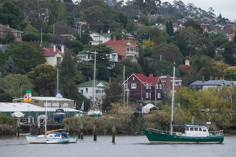 Launceston's harbor on the Tamar River is central to this city in Tasmania