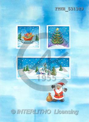 Isabella, CHRISTMAS SANTA, SNOWMAN, paintings(ITKE531329,#X#) Weihnachtsmänner, Schneemänner, Weihnachen, Papá Noel, muñecos de nieve, Navidad, illustrations, pinturas