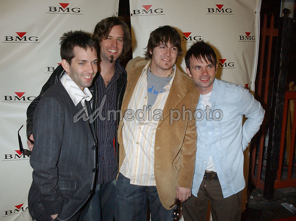 Feb. 8, 2004; Hollywood, CA, USA; Singers from 'JARS OF CLAY' during the BMG 46th Annual Grammy Awards Post-Grammy Gala Celebration held at The Avalon. Mandatory Credit: Photo by Laura Farr/AdMedia. (©) Copyright 2003 by Laura Farr