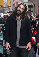 NEW YORK, NY - DECEMBER 3: Jason Momoa at Build Series promoting Aquaman in New York City on December 3, 2018.   <br /> CAP/MPI/RW<br /> &copy;RW/MPI/Capital Pictures