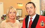 Cathy and Richie Culhain at the Civic Reception for the Florale Judges in the Tholsel Tourist Office..Picture: Shane Maguire / www.newsfile.ie.