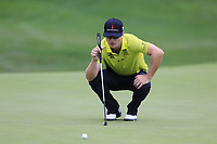 Zach Johnson (USA) on the 18th green during Sunday's Final Round of the WGC Bridgestone Invitational 2017 held at Firestone Country Club, Akron, USA. 6th August 2017.<br /> Picture: Eoin Clarke | Golffile<br /> <br /> <br /> All photos usage must carry mandatory copyright credit (&copy; Golffile | Eoin Clarke)
