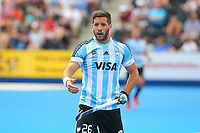 Lucas Vila of Argentina during the Hockey World League Quarter-Final match between Argentina and Pakistan at the Olympic Park, London, England on 22 June 2017. Photo by Steve McCarthy.