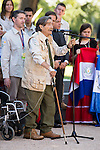 """Miguel de la Quadra-Salcedo during Royal Audience to a representation of young participating in the cultural program """"Ruta BBVA 2015"""" at Zarzuela Palace in Madrid, July 28, 2015. <br /> (ALTERPHOTOS/BorjaB.Hojas)"""